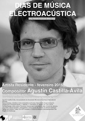 Cartaz Agustin Castilla-Ávila