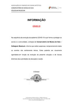 Informação COVID 19
