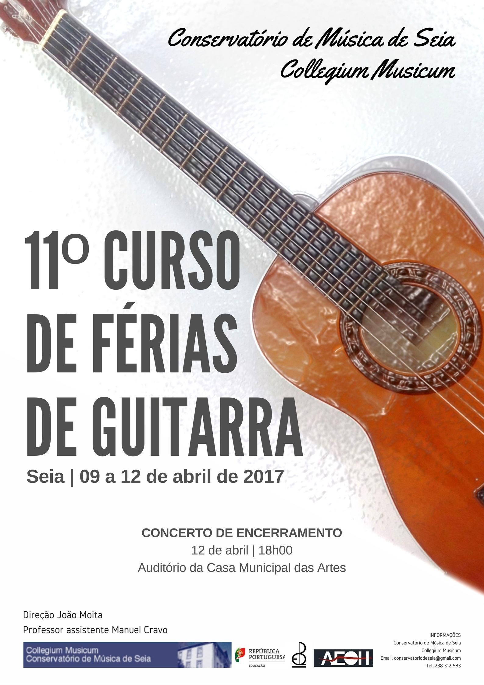 11º Curso de Férias de Guitarra