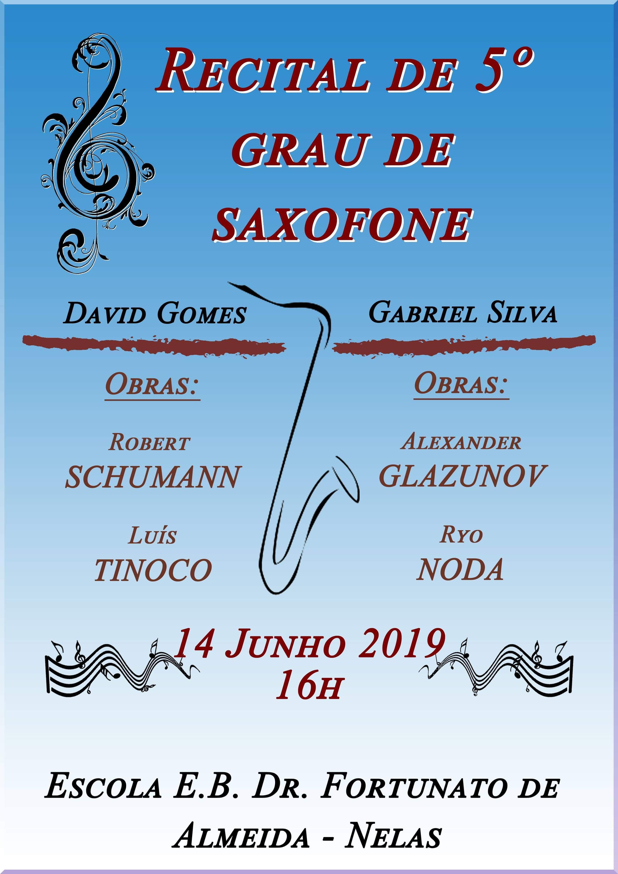 Recital de Saxofone