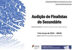 Audição finalistas secundário