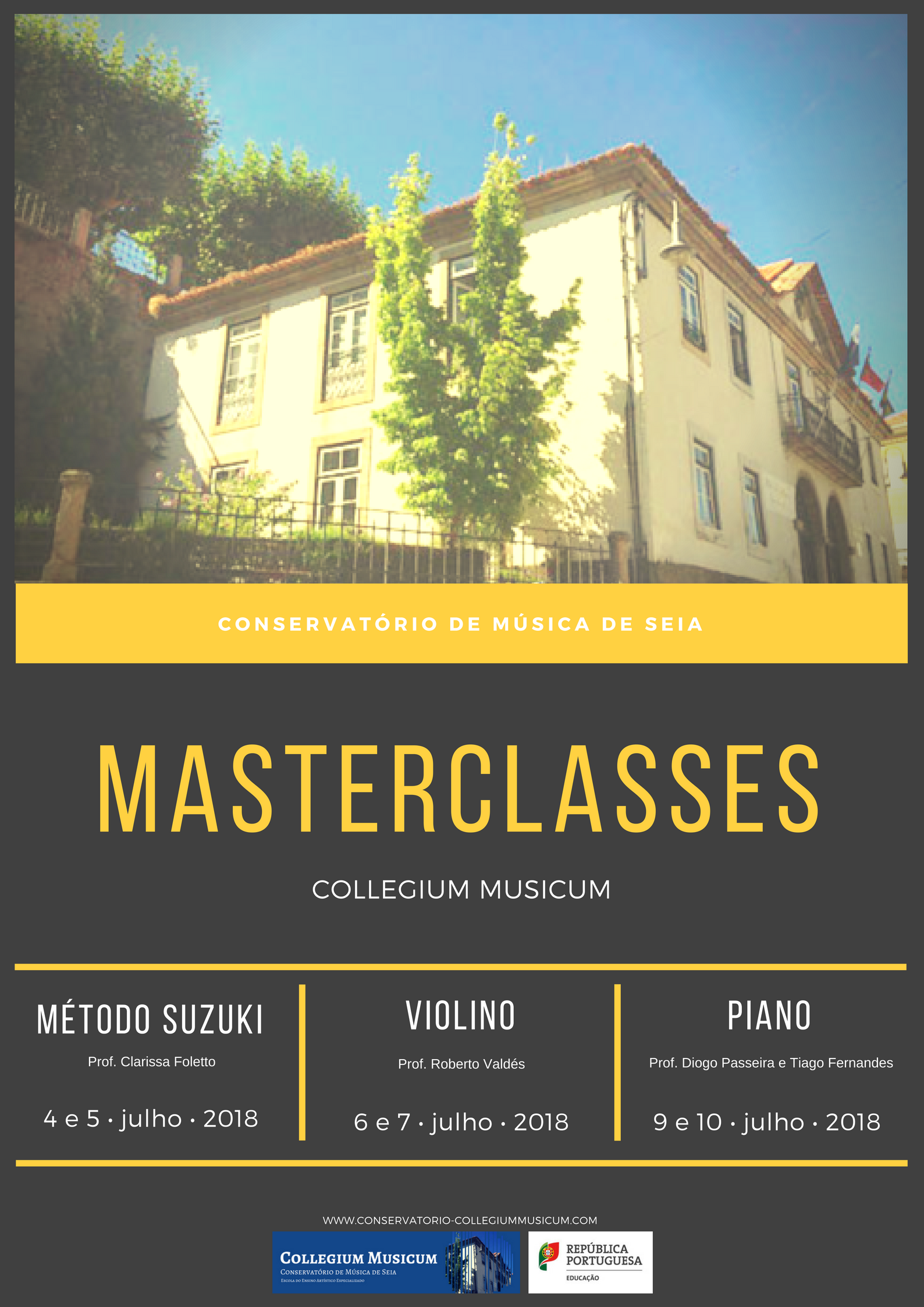 Masterclasses Collegium Musicum