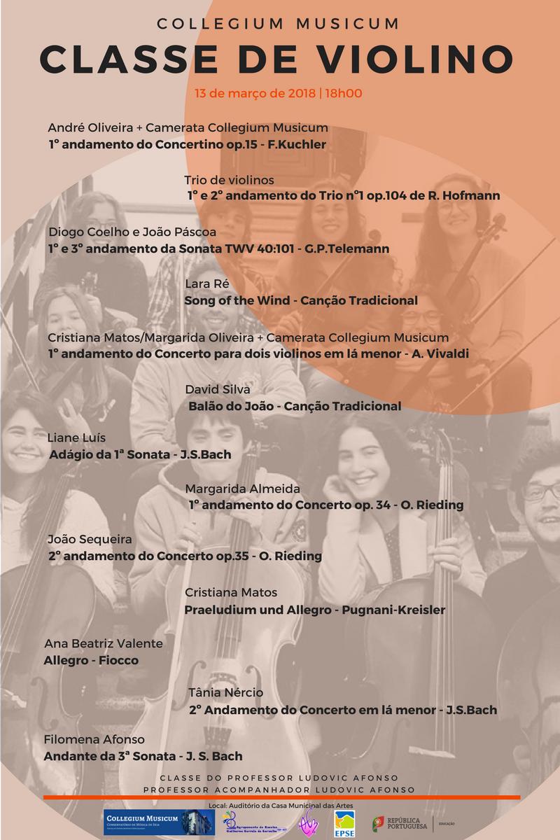 Audição Classe de Violino