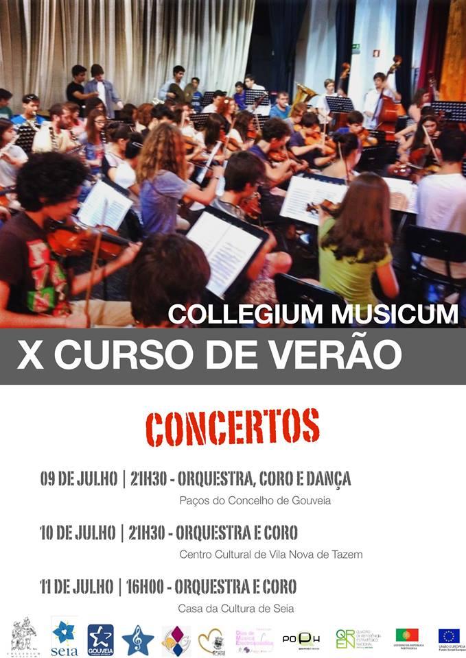 """Concertos """"X Curso de Verão"""""""