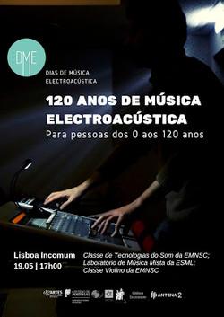 120 anos de Música Electroacústica