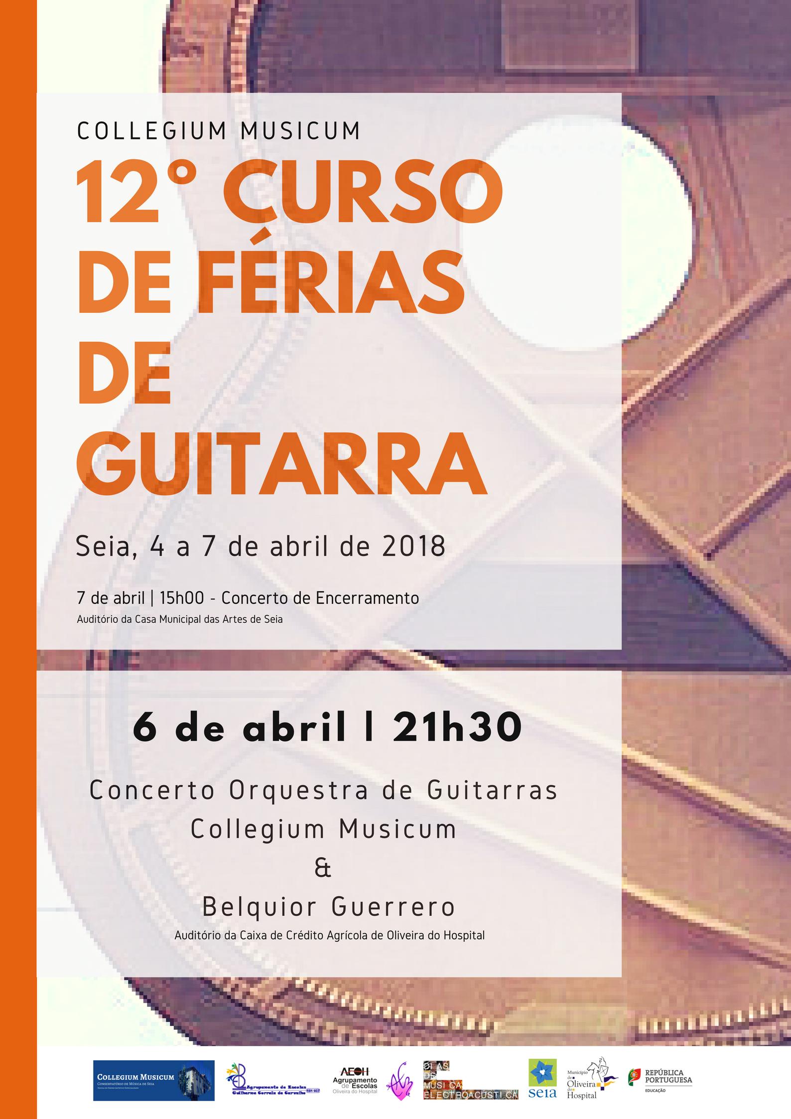 12º Curso de Férias e Guitarra