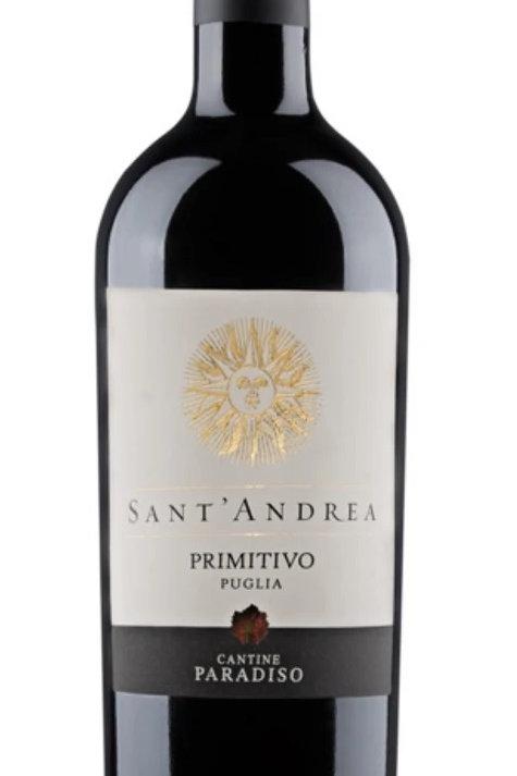 【CANTINE PARADISO】Primitivo Sant'andrea  (プリミティーヴォ)