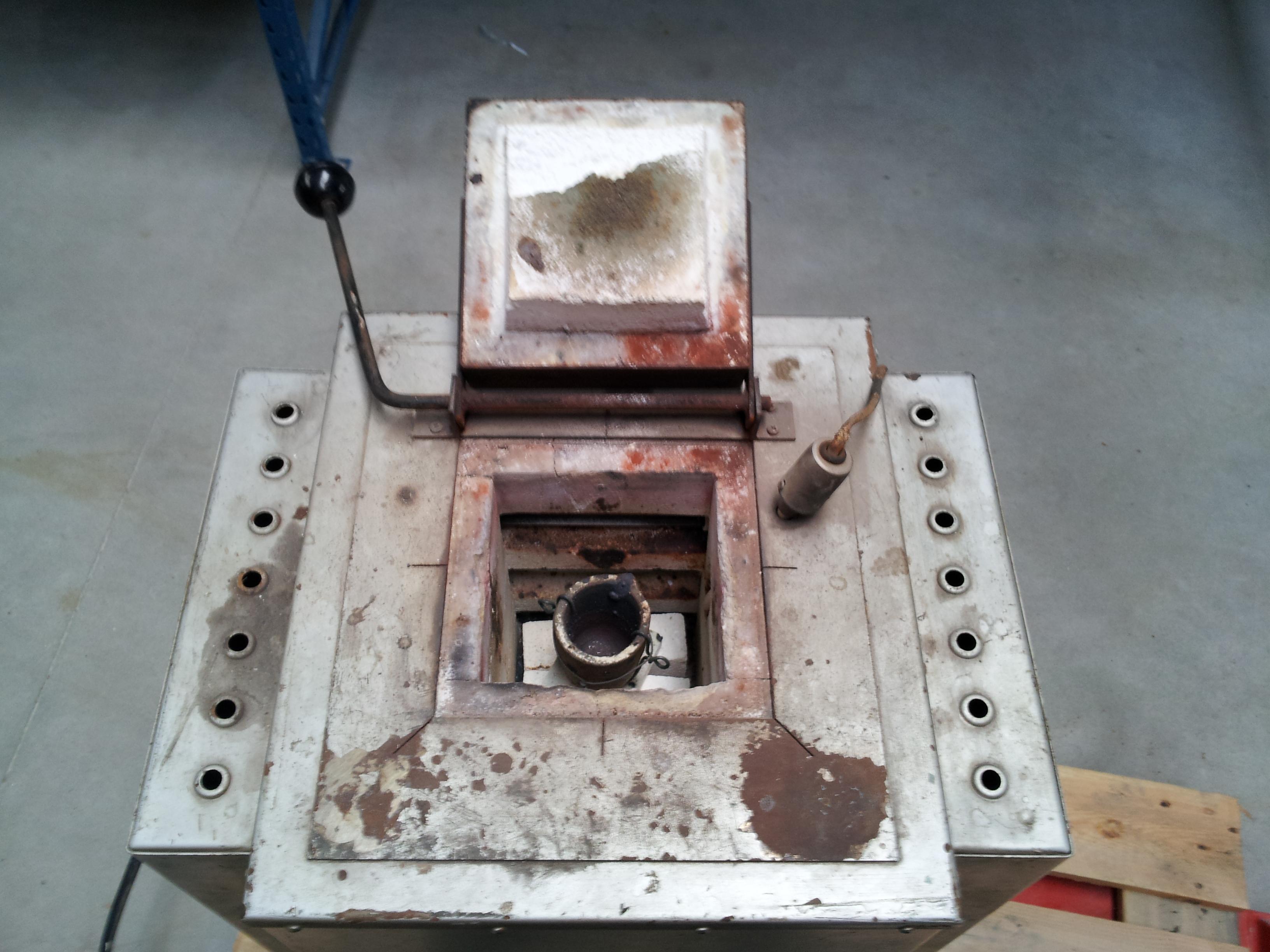 Defect Deksel van HT oven