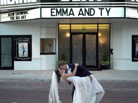Emma & Ty's Clay Theatre Wedding