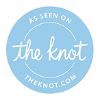 as seen in the knot magazine, the knot wedding vendor, the knot magazine, published wedding videographer