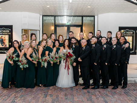 Jennifer & Anthony's Clay Theatre Wedding