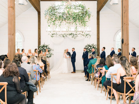 Shea & Jon's Chandler Oaks Barn Wedding
