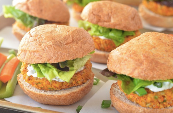buffalo chickpea sliders, vegan sliders, vegan food, buffalo sliders, vegan foodie, vegan food blog