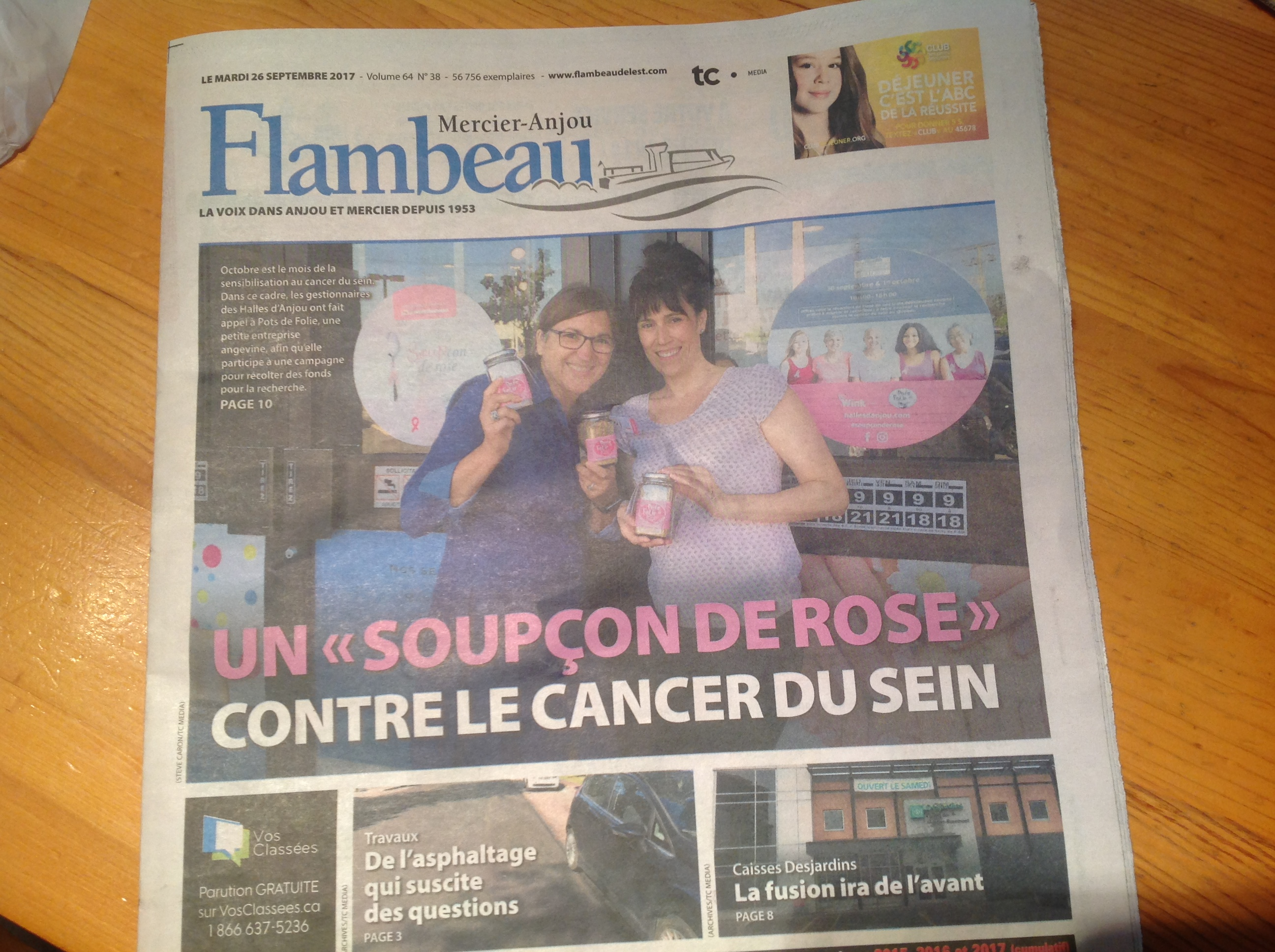 Campagne Soupçon de rose