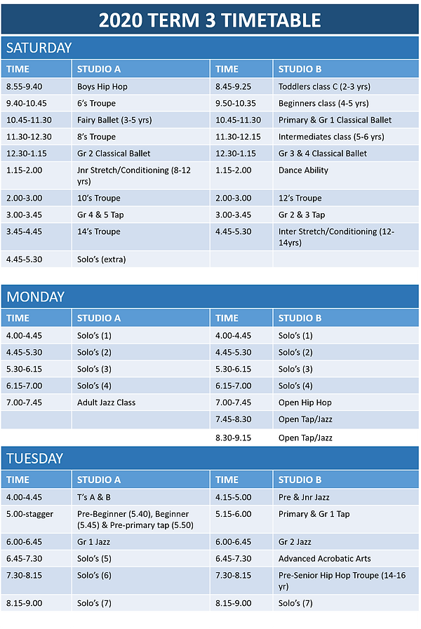 VHSD Perth Dance Timetable term 3.1.png