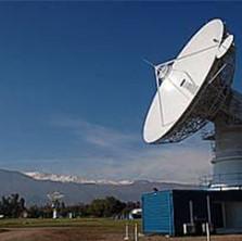 Antena NASA Chilena