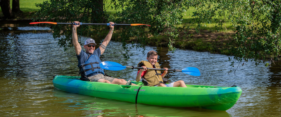 July 17th is Kayak Day - Enjoy the Great Outdoors on the Clear Creek Paddle Trail