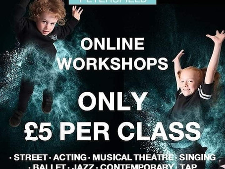 Italia Conti Petersfield Online Workshop
