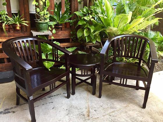 Betawi Ruji 1 Seater Set