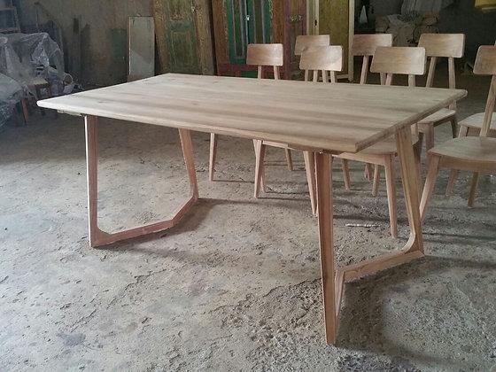 Modern V Leg Table