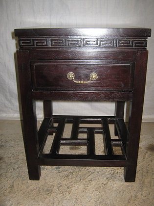 Oriental Bed Side Table 1 drawer