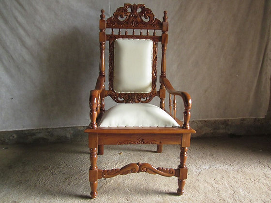 Carved End Chair