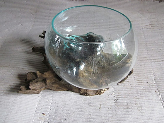 Fish Bowl Rustic Base