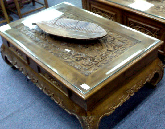 Opium Carving Coffee Table