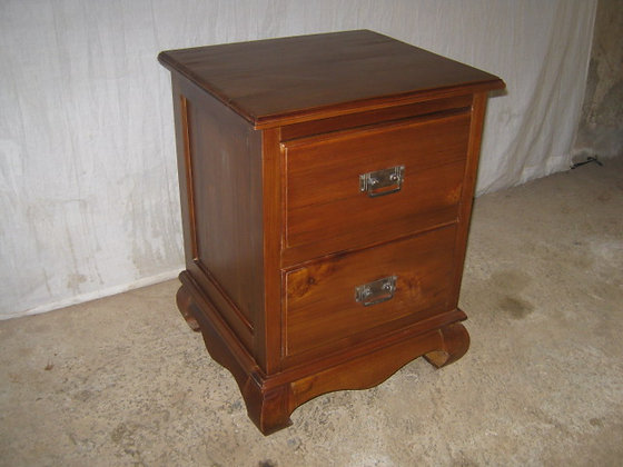 Opium Bed Side Table 2 Drawers