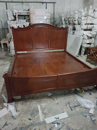 Curved Classic Bed (Solid Base)