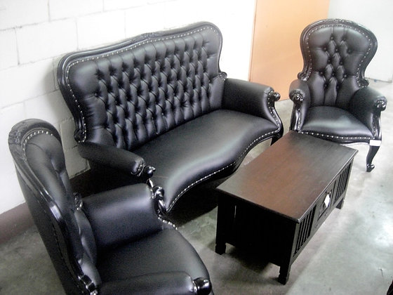 Grandfather Sofa Set