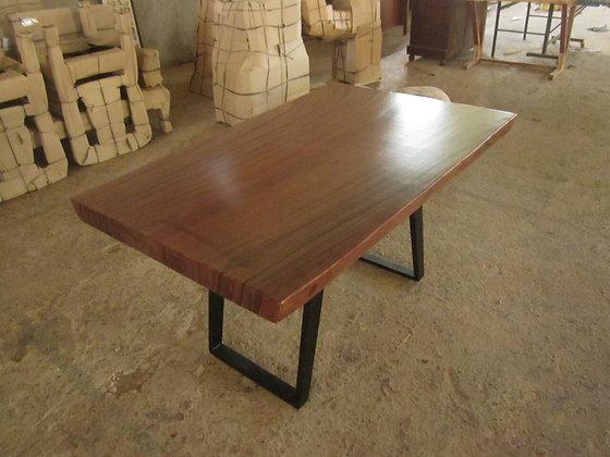 Suarwood Steel Leg Table