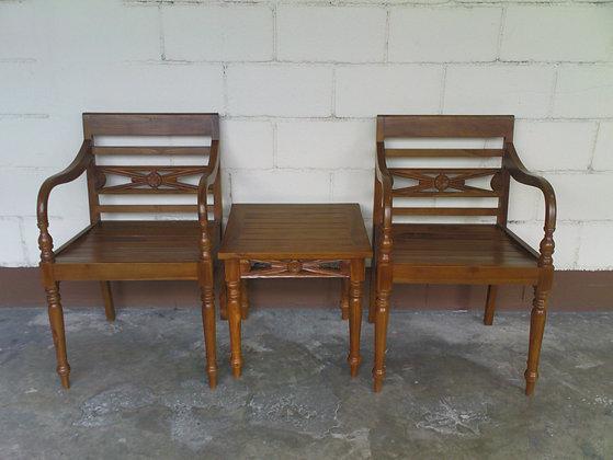 Batavia Seater Set