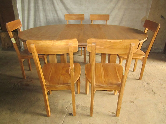 Oval Top Dining Set
