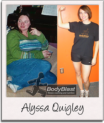 BodyBlast Personal Training Client Alyss