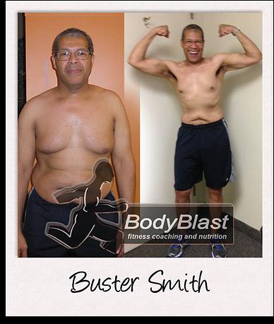 BodyBlast Personal Training Client Buste