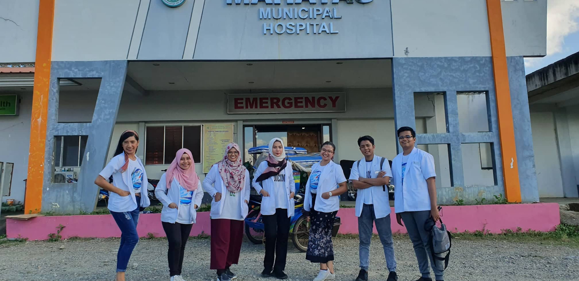 Team Boniao at Mahayag Municipal Hospital