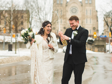 Downtown Guelph, Ontario - Styled Wedding!
