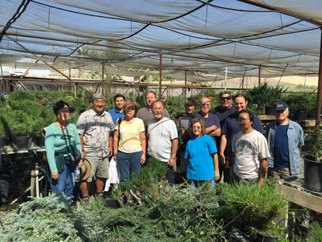 Club Field Trip to Ed Clark's Nursery