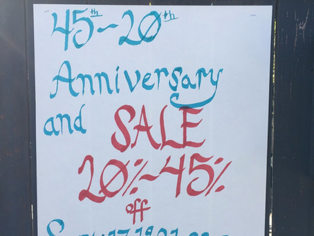 Kimura's 45th/20th Anniversary Wrap-up