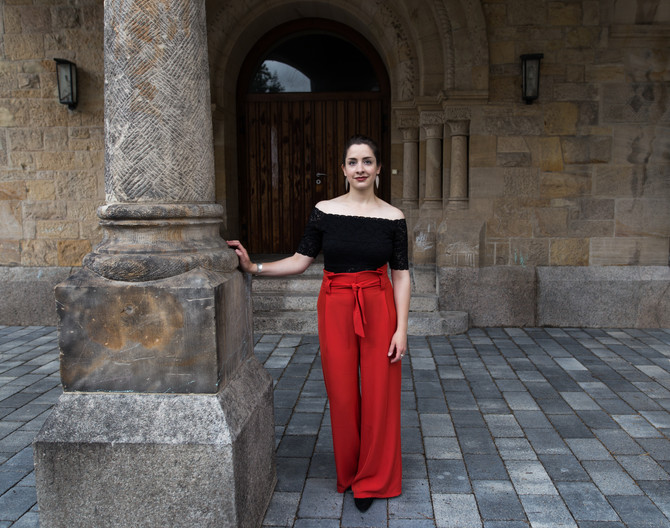 Artist portraits with mezzosoprano Katharina Fulda