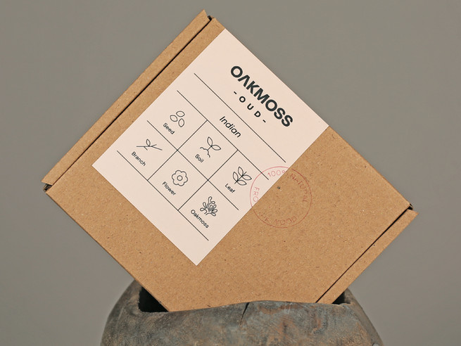 Oakmoss Brand Identity
