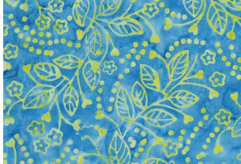 Batiks - amarillos y azules - 18€/m