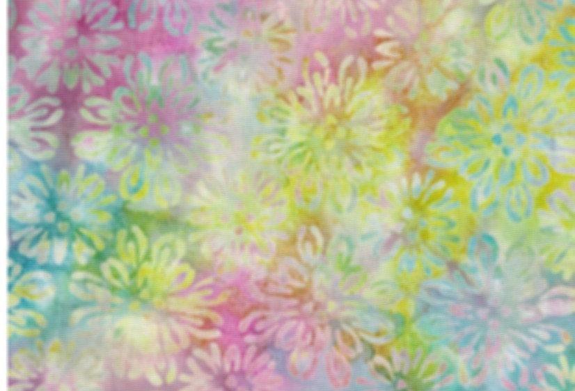 Batiks - amarillos y rosas - 18€/m