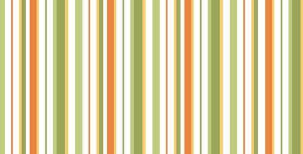 Carnabay Street Maywood Studios, blanco-naranja-verde - 100% Algodon, 1,10Ancho