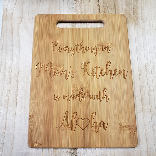 Cutting board - Large (With Handle)