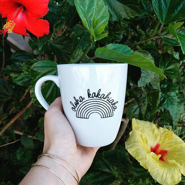 Aloha Kakahiaka Mugs