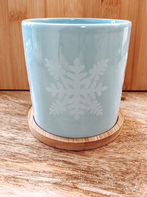 Mini Planter - Blue Ulu Quilt Pattern