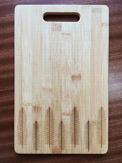 "Cutting Board - Kupukupu, 8.25 x 13"""
