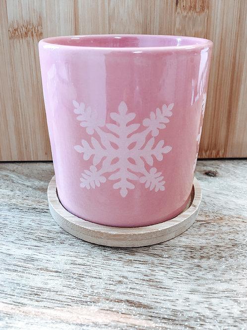Mini Planter - Pink Ulu Quilt Pattern